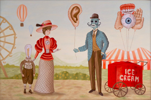 Atomica Gallery and ATP Festival present: 'Mind's Eye Funfair' Rafael Silveira debut European Solo Exhibition